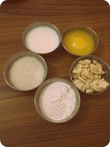 Sapada bhakshya ingredients