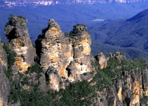 Three sisters rock