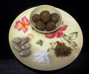 Jack fruit Seed laddu